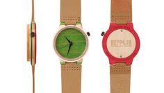 Des montres qui changent des habitudes Skateboard, Surf, Recycling, Watch, Planks, Wristwatches, Skateboarding, Clock, Surfing
