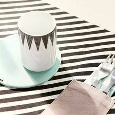 stripes placemat by ferm living