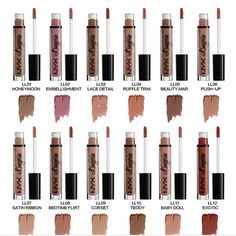 (Advertisement) NYX Lip Lingerie Matte Liquid Lipstick Waterproof Lip Gloss Makeup 12 Shades NEW Loading. (Advertisement) NYX Lip Lingerie Matte Liquid Lipstick Waterproof Lip Gloss Makeup 12 Shades NEW Nyx Lip Lingerie, Make Up Tutorials, Long Lasting Makeup, Long Lasting Lipstick, Mascara, Liquid Eyeshadow, Glitter Eyeshadow, Liquid Makeup, Lipstick Colors
