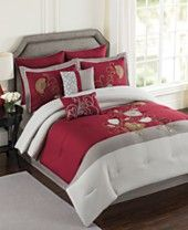CLOSEOUT! Mulberry 8 Piece Comforter Sets