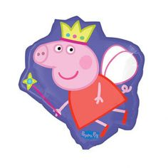 Party Time Celebrations  - Peppa Pig Crown Helium Foil Balloon, $11.95 (http://www.partytimecelebrations.com.au/peppa-pig-crown-helium-foil-balloon/)
