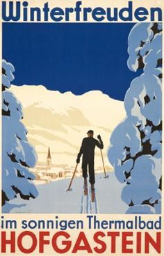 Skiing (Vintage Art) Photos, Prints, Paintings & Wall Art for Sale Vintage Ski Posters, Retro Poster, Cool Posters, Sports Posters, Art Posters, Tourism Poster, Vintage Art, Giclee Print, Art Print