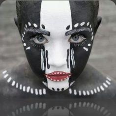#makeup #tribal