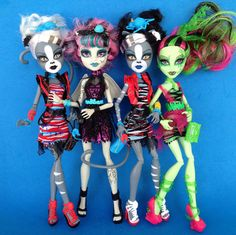 zombie shake monsterhigh monster high dolls werecats