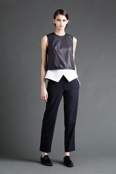 Yigal Azrouël Resort 2015 Collection Slideshow on Style.com