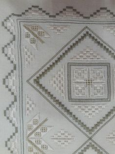 Hardanger Embroidery, Bargello, Linens, Needlework, Stitching, Sewing, Rugs, Decor, Farmhouse Rugs