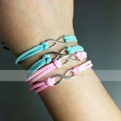 braccialetto con simbolo infinito - onedirection - idea regalo amici Turquoise Bracelet, Bracelets, Jewelry, Fashion, Jewelry Bracelets, Ear Rings, Wrap Watches, Necklaces, Jewels