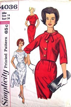 60s Dress and Jacket