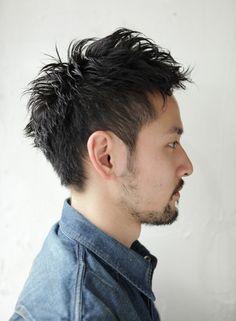 ソフモヒベリーショート(髪型メンズ)
