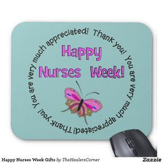 Shop Happy Nurses Week Gifts Mouse Pad created by TheHealersCorner. Nurses Week Quotes, Nurses Week Gifts, Happy Nurses Week, Happy Week, Funny Nurse Quotes, Nurse Gifts, Nurse Humor, Nurse Appreciation Week, Appreciation Gifts