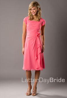 Modest Bridesmaid Dresses, Dressy Dresses, Modest Dresses, Cute Dresses, Prom Dresses, Dresses For Work, Bride Dresses, Latter Day Bride, Perfect Bride