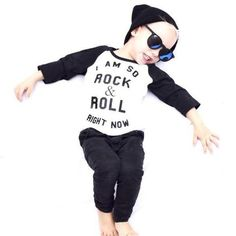 Little Lords Rock and Roll Raglan