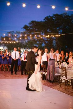 First dance as married couple. The Bride is in Jim Hjelm for JLM Couture. Photography by Michelle March