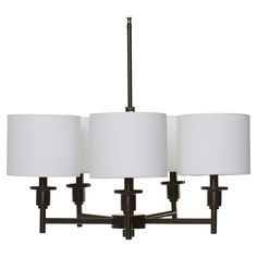 FREE SHIPPING! Shop Wayfair for Three Posts Maria 5-Light Chandelier - Great Deals on all Kitchen & Dining products with the best selection to choose from!