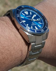 Seiko Prospex Blue Lagoon Samurai SRPB09 Limited Edition Watch Review