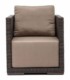 Park Island Armchair Brown (703020) | Walmart.ca Outdoor Chairs, Outdoor Furniture, Outdoor Decor, Online Shopping Canada, Floor Chair, Accent Chairs, Armchair, Cushions, Island