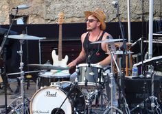 Shannon Leto live in Saint Tropez Church of Mars Thirty Seconds to Mars July 24 2014