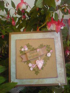 Kränze/Wreath Karte/Card