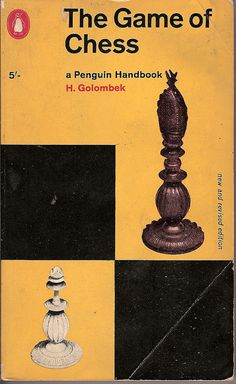 The Game of Chess - Penguin book cover by Covers etc, via Flickr