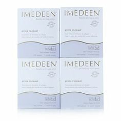 4 boxes of tablets, designed to support skin & collagen health, created especially for women 50+. Originally developed in Scandinavia, Imedeen has been a global leader in internal skincare since 1991. 400667 - Imedeen Prime Renewal Skin Collagen Formula 50+ years - QVC Price: £165.00 http://www.qvcuk.com/Imedeen-Prime-Renewal-Skin-Collagen-Formula-50%252b-years.product.400667.html?sc=CommissionJunction&ref=aff&cm_mmc=CJ-_-3507660_-5507647-_-QVC+UK+Product+Catalog&source=400667