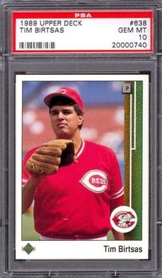 1989 Upper Deck #638 Tim Birtsas Reds PSA 10 pop 8 by Upper Deck. $6.00. 1989 Upper Deck #638 Tim Birtsas Reds PSA 10 pop 8. If multiple items appear in the image, the item you are purchasing is the one described in the title.