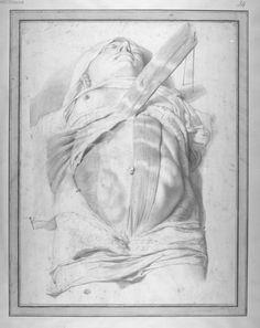 LAIRESSE, Gérard de. Abdomen après élévation du Muscle oblique - Dessins originaux  - 03734. See: https://www.pinterest.com/pin/287386019948331044