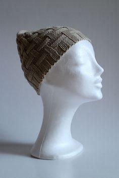 Mocca - jemná jarno-jesenná pletená čiapka s mriežkovým vzorom. * Farebnosť výrobku sa od skutočnosti môže líšiť v závislosti od nastavenia obrazovky Vášho počítača.