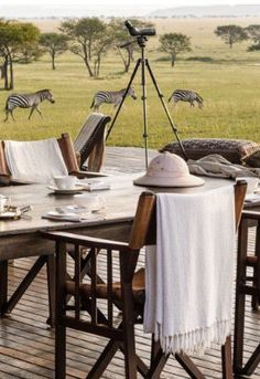 Out of Africa - Safari dining