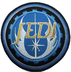 Men's Star Wars Jedi Order ERA Tactical Morale Patch (Blue)
