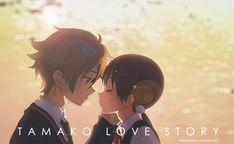 I love this movie! Tamako Market / Tamako Love Story | Kyoto Animation / Kitashirakawa Tamako and Ooji Mochizou / 「Tamako Love Story」/「杉崎key」のイラスト [pixiv]