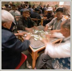 Mahjong Players, Dali, Yunnan Provence, China 2011 | Michael Seewald