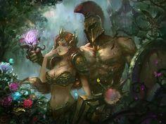 -Leona & Pantheon- League of legends