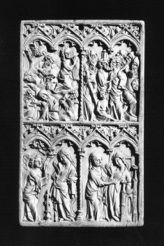 Wax Tablet with the Lives of the Virgin and Christ