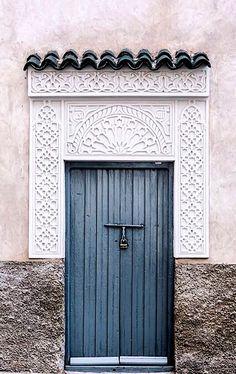 Marrakech, Morocco   ~ Beautiful Doors