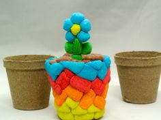 Pea pot Magic Nuudles Craft Project