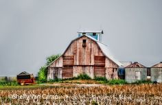 This is one of the barns in Kalona, Iowa