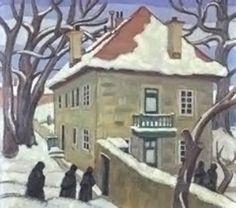 Gardener's Cottage, by Ethel Seath