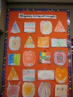 Spookley bulletin board idea
