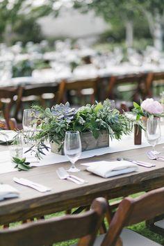 Ideas For Wedding Centerpieces Rustic Elegant Dinner Parties Succulent Wedding Centerpieces, Floral Centerpieces, Table Centerpieces, Centrepieces, Potted Plant Centerpieces, Wedding Napkins, Wedding Boxes, Wedding Table, Floral Wedding