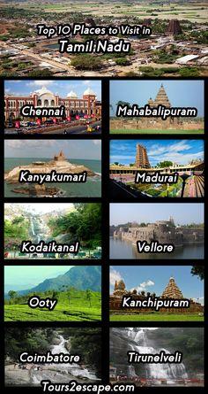 10 Best Places to visit in Tamil Nadu #tamilnadu  http://www.tours2escape.com/10-best-places-in-tamil-nadu/