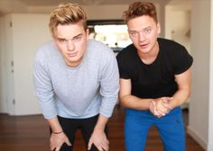 The Maynard brothers have to stop being so damn attractive omg!!