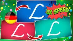LetterSchool ABC 3x Speed Version & Buchstaben schreiben lernen & Lernspiel App für Kinder