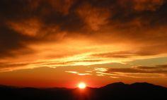 Blue Ridge Sunset251 by cheryl astern