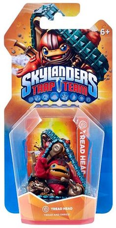 Skylanders Trap Team - Tread Head Utilizzabile solo con il software Skylanders Trap Team. Non è compatibile con i software Skylanders Swap Force, Skylanders Giants e Skylanders Spyro's Adventure.