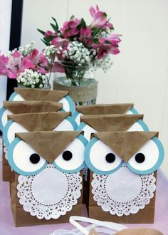 Owl goodie bags anyone?