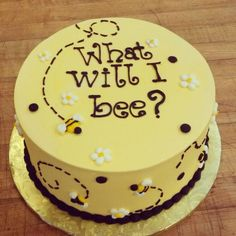 what will it bee cake - Google Search
