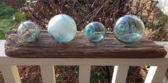 Driftwood Glass Fishing Float Holder for by GlassFloatJunkie