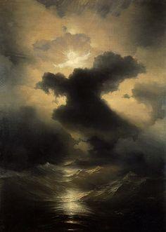 Pictorul si marea %u2013 Ivan Aivazovsky | 3 din 15 St. Peter greets souls! Teodora Stoica-Ti: