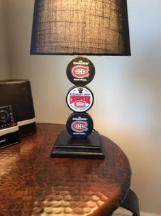 Montreal Canadiens Stanley Cup Lamp on Etsy, $65.00