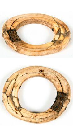 Antique African ivory bracelet, with indigenous repairs | Est. 100 - 200$ ~ (Feb '15)